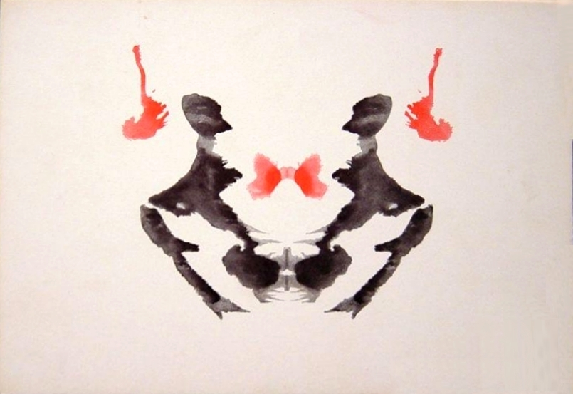 Rorschach Image number 3 in the test